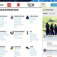 Backcountry.com Activity Feed